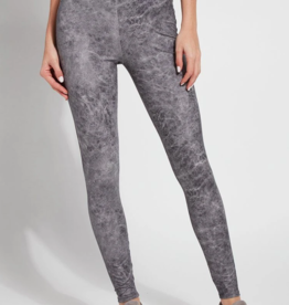 Lysse Lysse Matilda Foil Legging Distressed Grey
