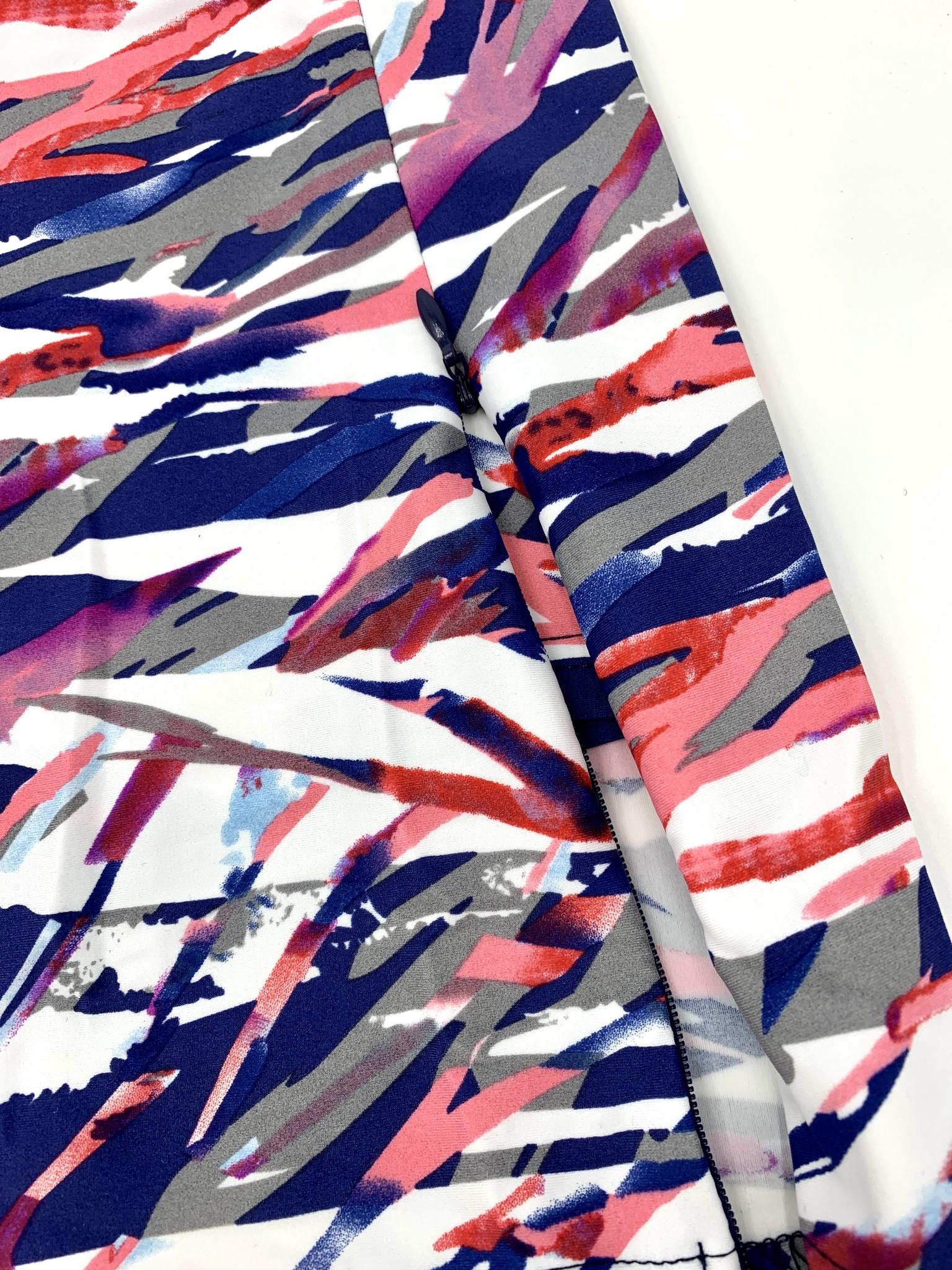 Aryeh Tessa Printed Skort - Pink Slipstream