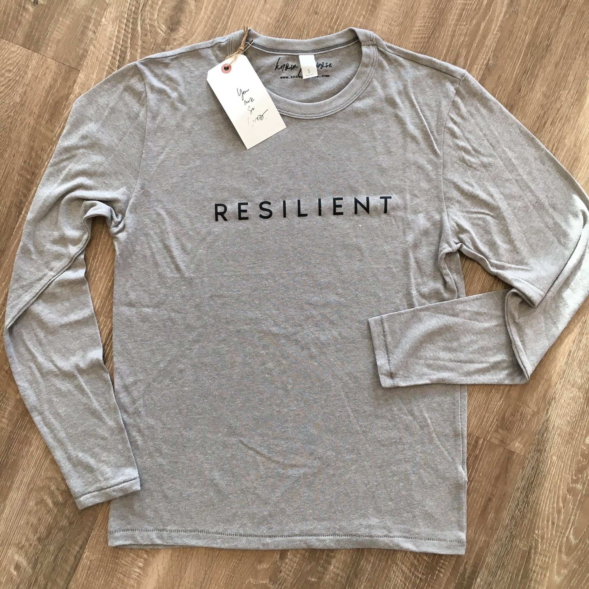 Know Purpose 'Resilient' Long Sleeve Tee