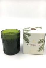 Thymes Frasier Fir - Green Glass Candle