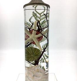 Lifetime Candle Large Cylinder - Blush Seashell