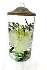 Lifetime Candle Small Cylinder - White Orchid