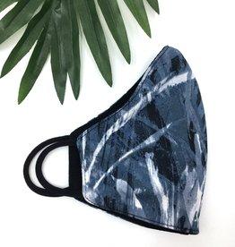 Last Tango Reversible Knit Mask - Lazy River