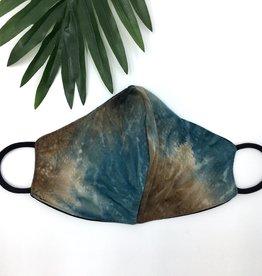 Last Tango Reversible Knit Mask - Zen Lagoon