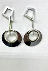 JMR Earrings 2237 - Metal/Silver