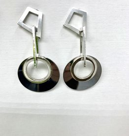 JMR Earrings 2237 - Metal/Silver