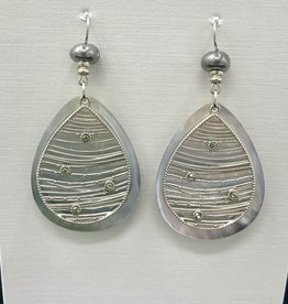 JMR Earrings - Silver