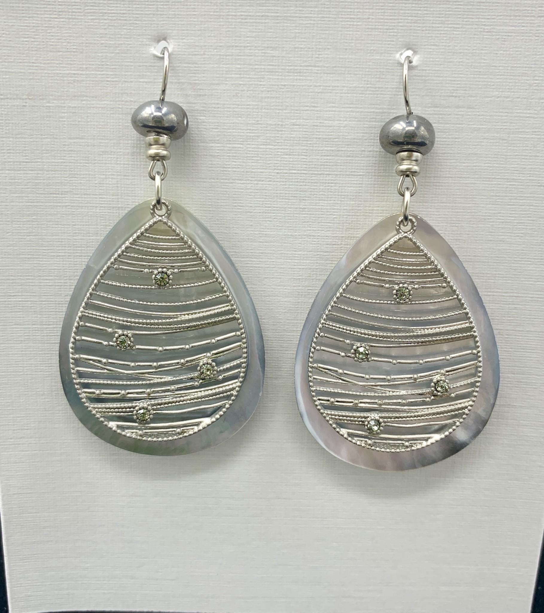 JMR Earrings - Silver