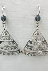 JMR Earrings - Blue/Silver