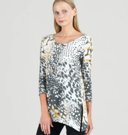 Clara Sun Woo Clara Sunwoo Animal Splash Side Vent Tunic