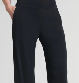 Clara Sun Woo Clara Sunwoo Knit Straight Pocket Pant - Black