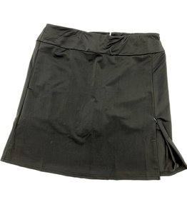 Aryeh Solid Skort - Black