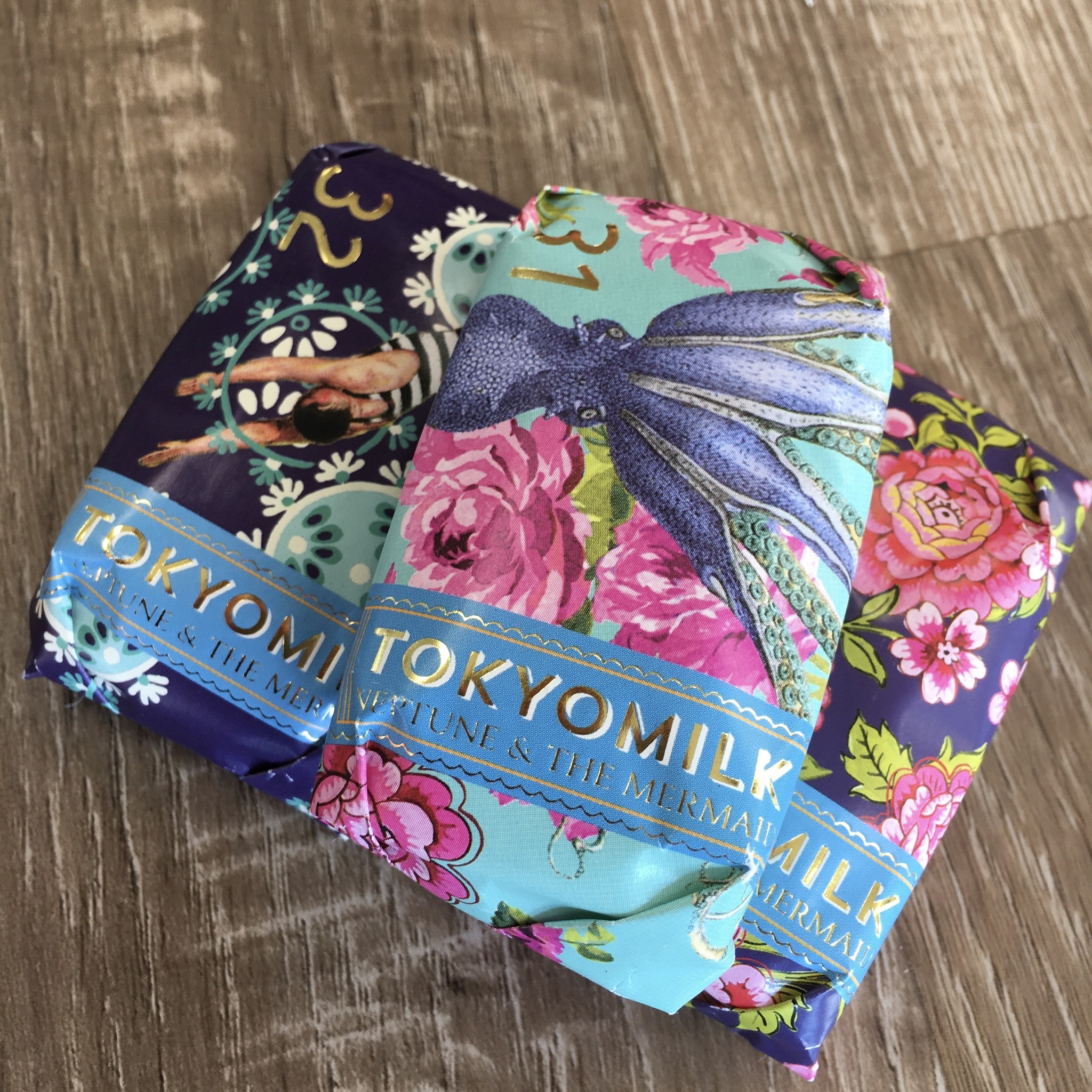 TokyoMilk Lost Atlantis Mini Soap Collection