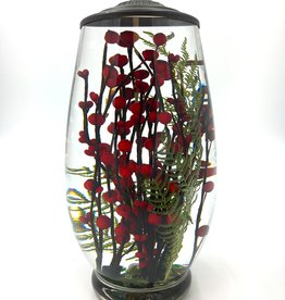 Lifetime Candle Brandy Vase - Red Berry