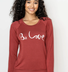 Be Love 'Be Love' Raglan Pullover - Amber
