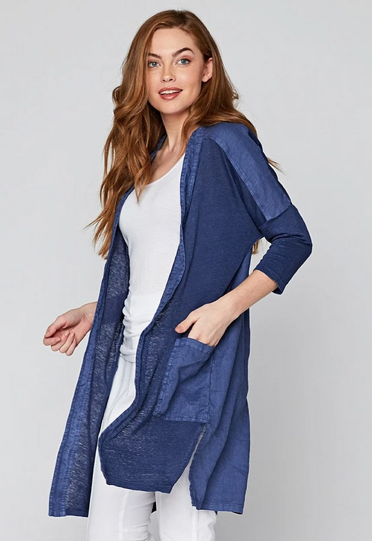 Wearables Breathable Cardigan - Nighttide