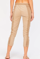 Wearables Jetter Crop Legging - Jute