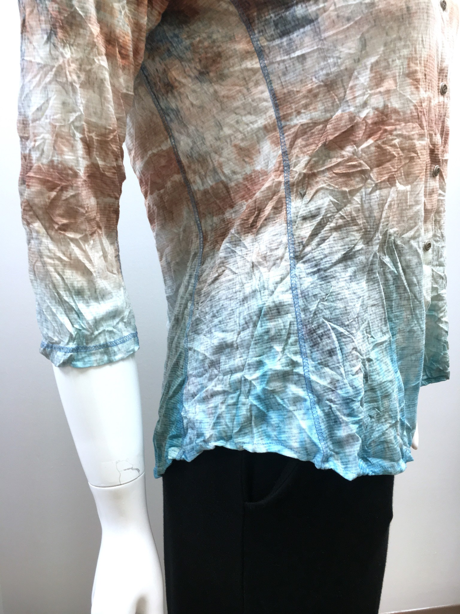 David Cline David Cline 3/4 Sleeve Blouse  - Sky