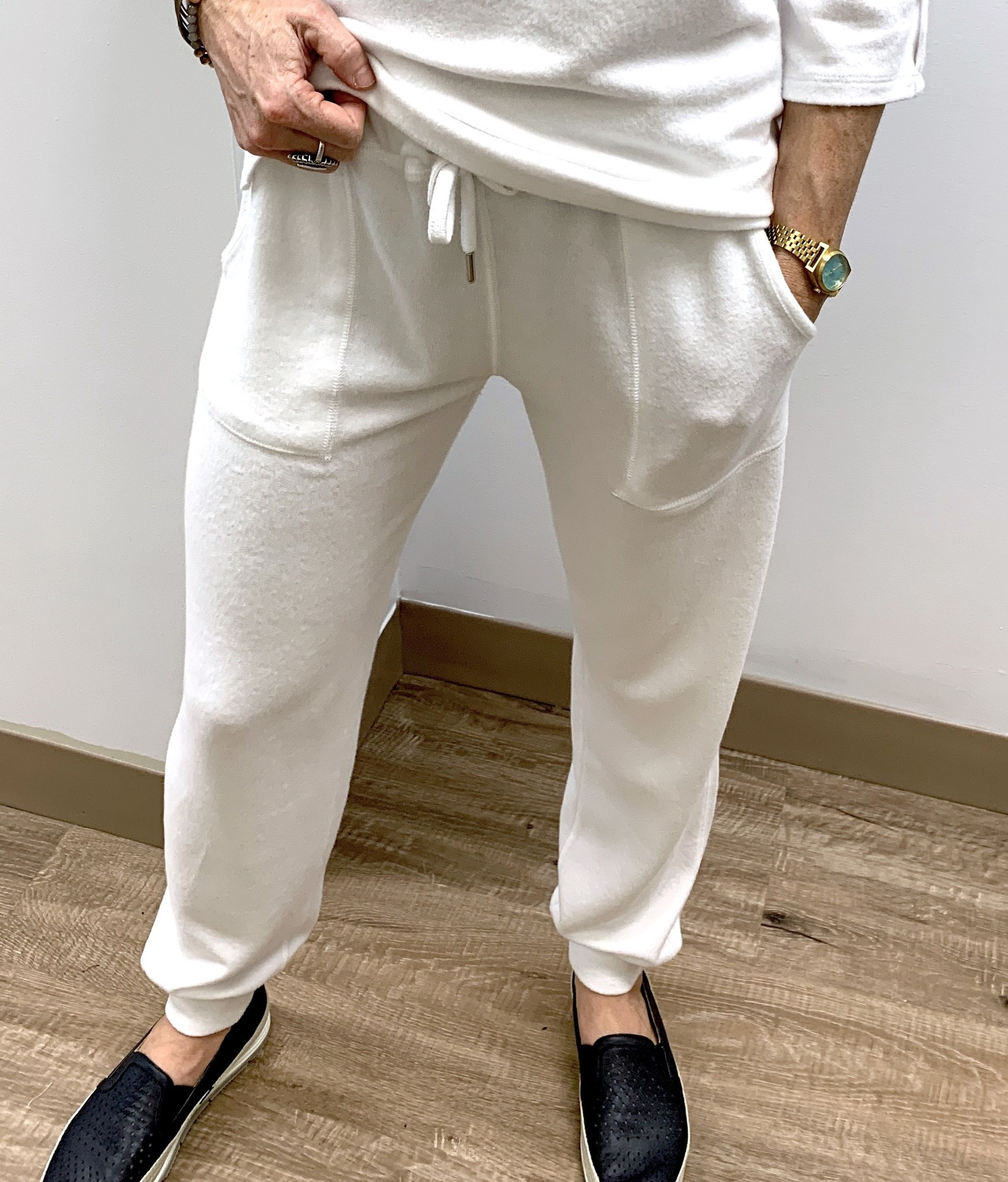 French Kyss Soft Stretch Jogger - Multiple Colors