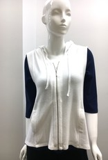 French Kyss Soft Stretch Hooded Zip Vest
