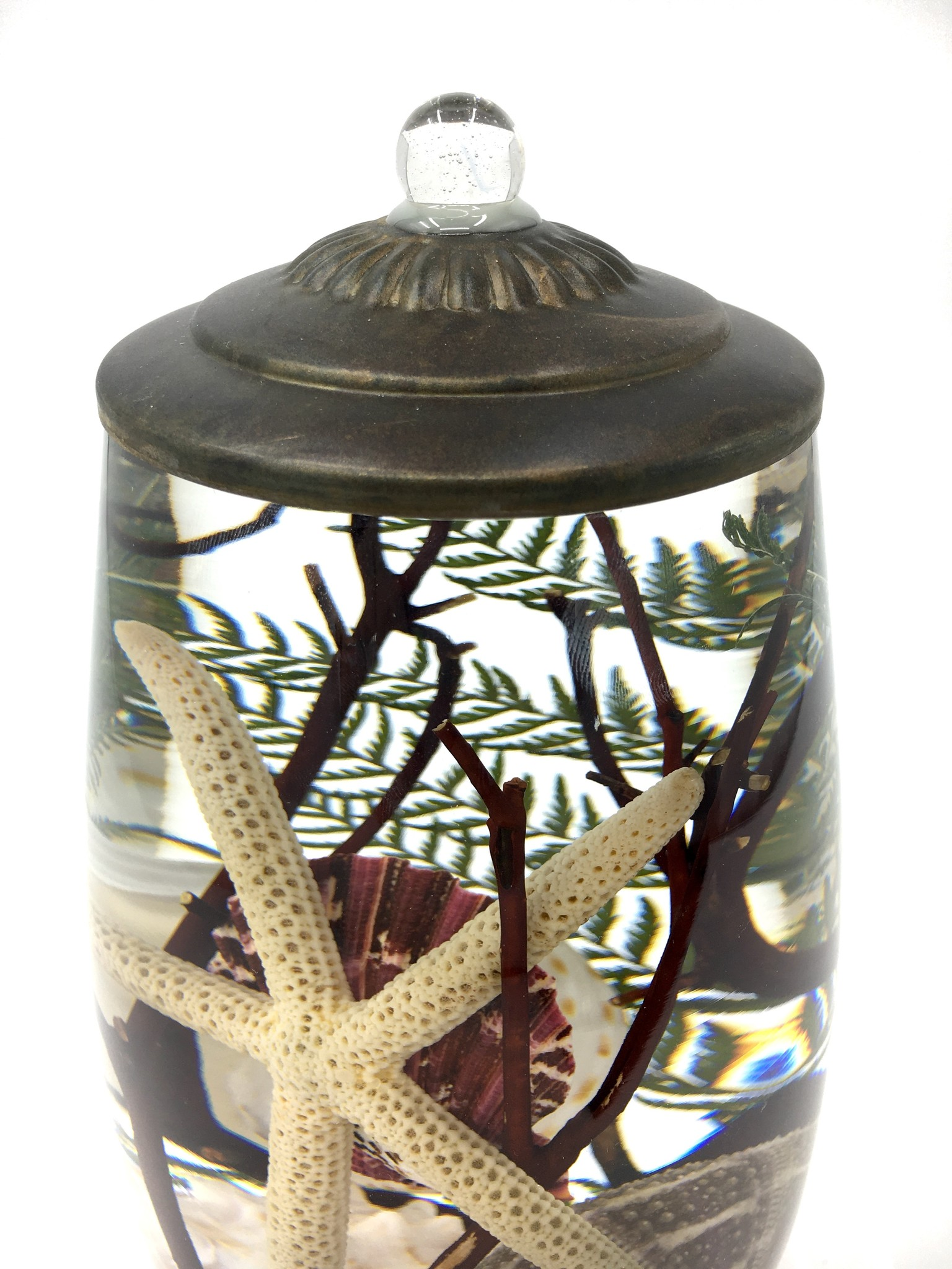 Lifetime Candle Brandy Vase - Seashell