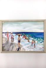 Happy Blues - 7x5 Mini Canvas Art