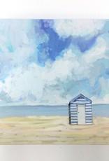 Beach Cabana - 10x10 Canvas Art