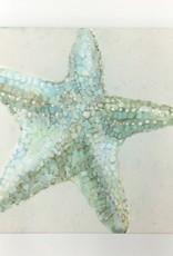 Shimmering Starfish - 10x10 Canvas Art