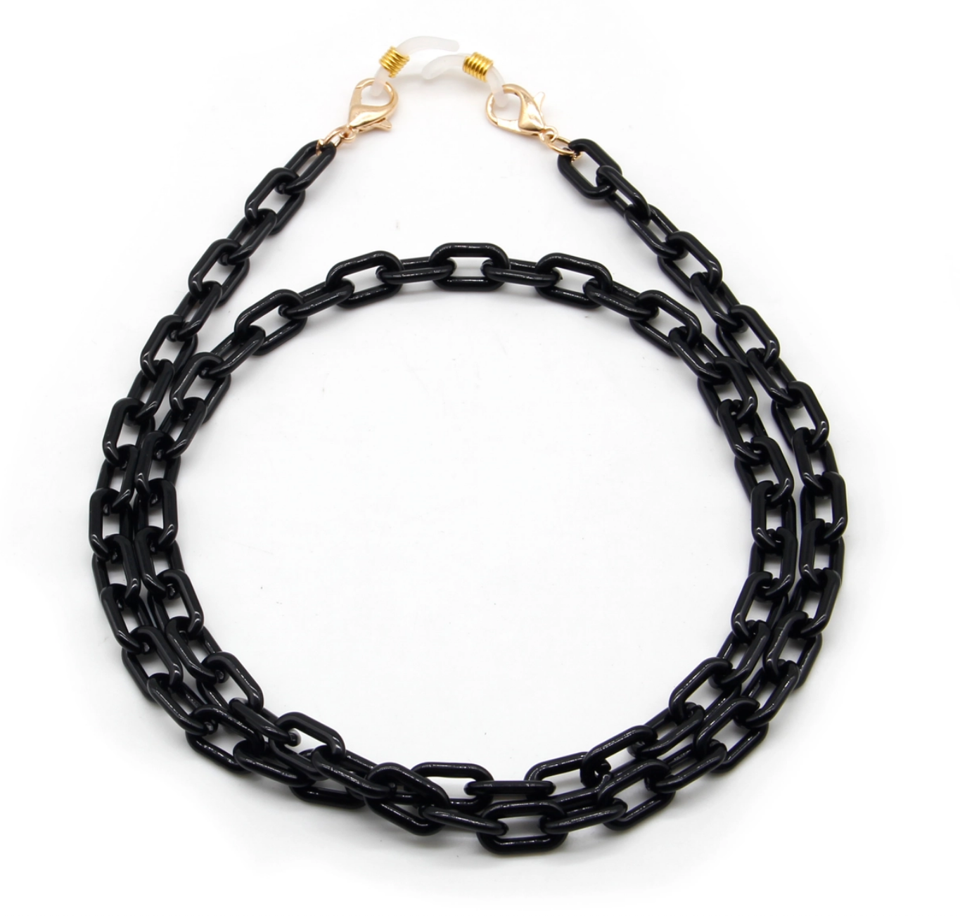 Milk + Sass Mask Chain (Small) - Black