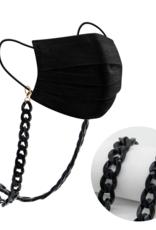Milk + Sass Mask Chain - Black (Wide Width)