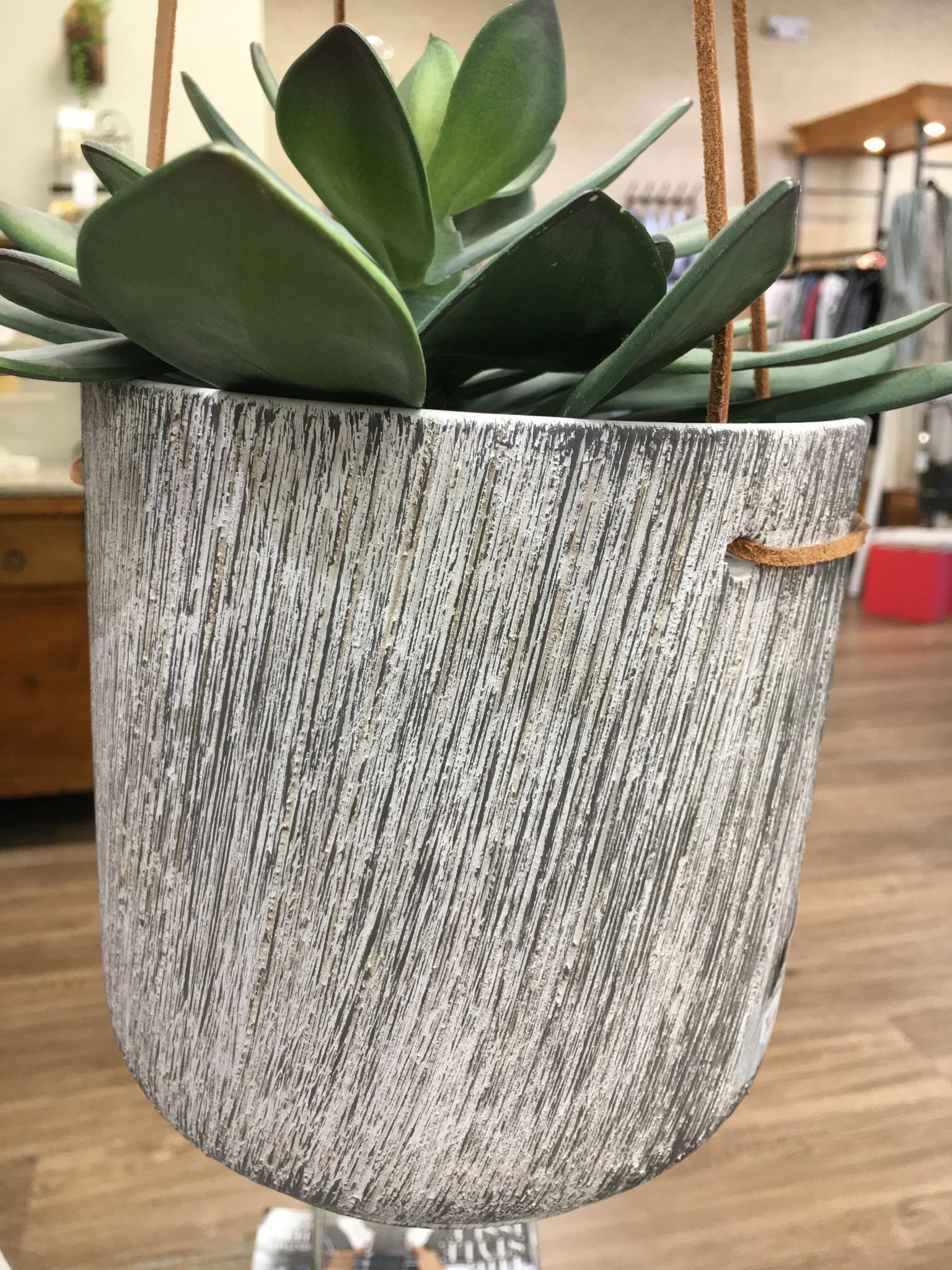 Ceramic Hanging Vase - Large