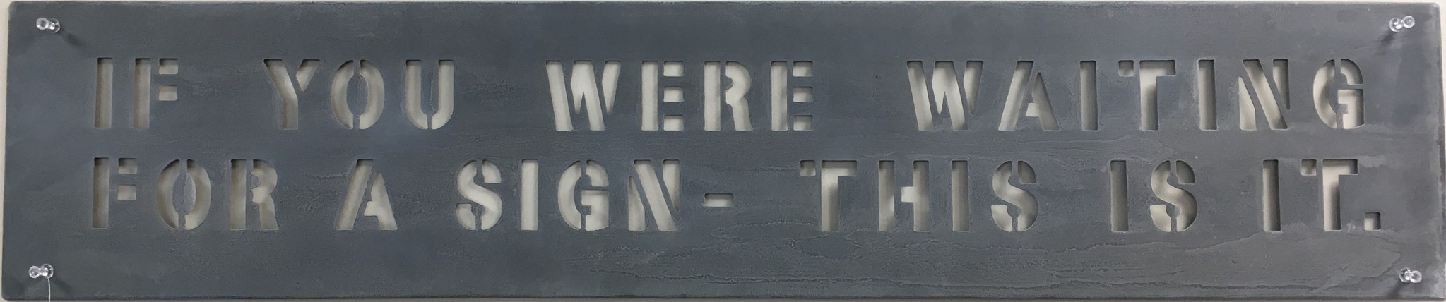 Sugarboo & Co. Sugarboo Metal Wall Sign