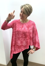 French Kyss One Sleeve Poncho - Candy