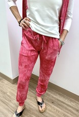 French Kyss Soft Stretch Jogger - Candy