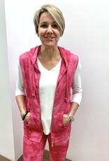 French Kyss Soft Stretch Zip Vest - Candy