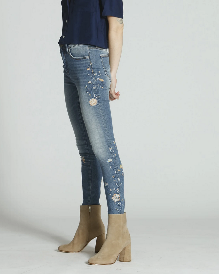 Driftwood Denim Jackie High Rise - Blue Vine