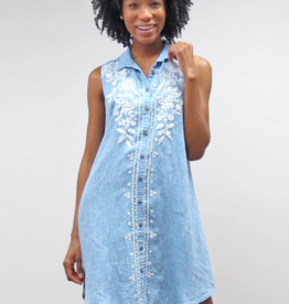 Kyla Seo Vira Dress Lite - Chambray