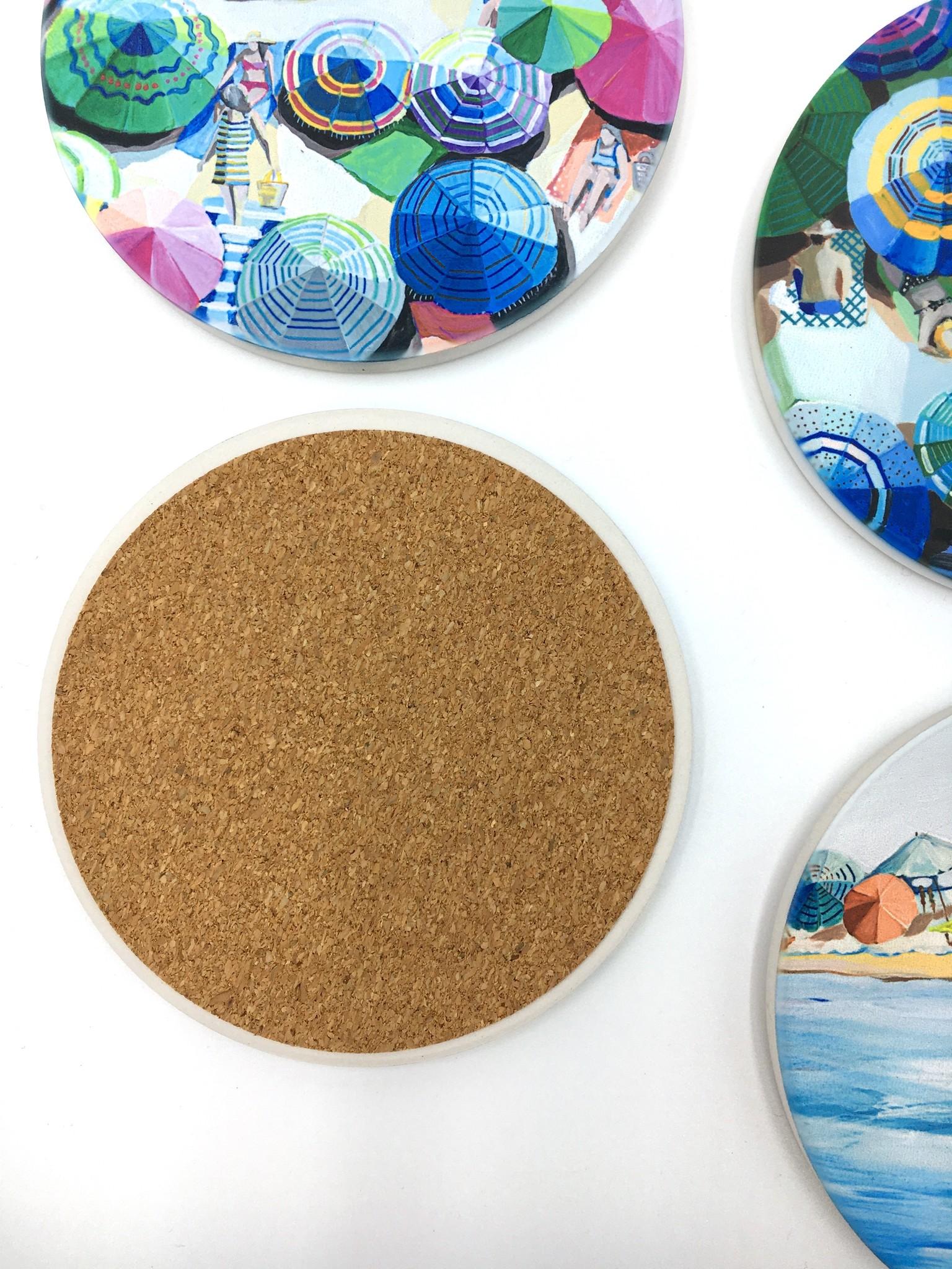Summertime Sun - Set of 4 Coasters