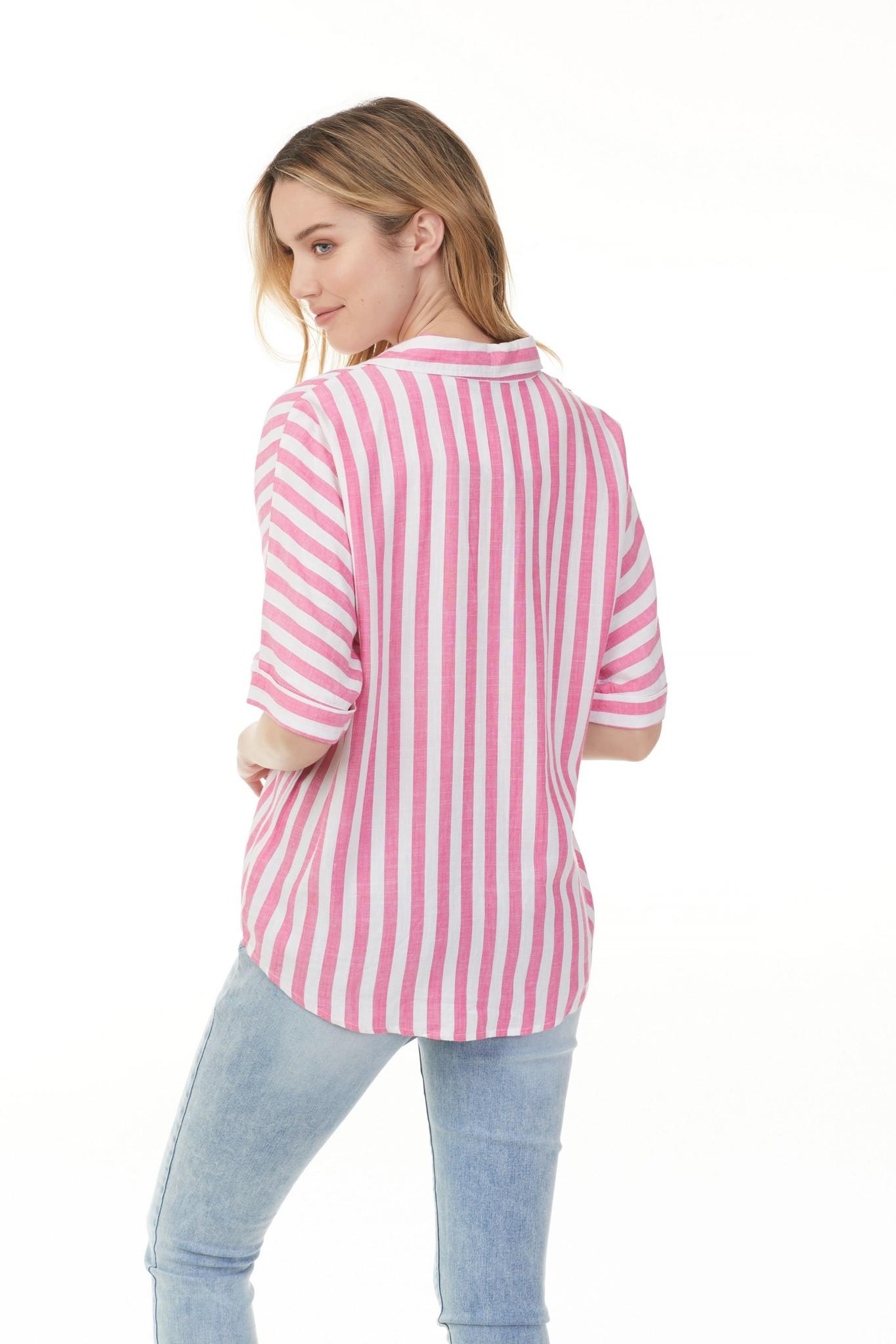Charlie B Charlie B Stripe Half Sleeve - Multiple Colors