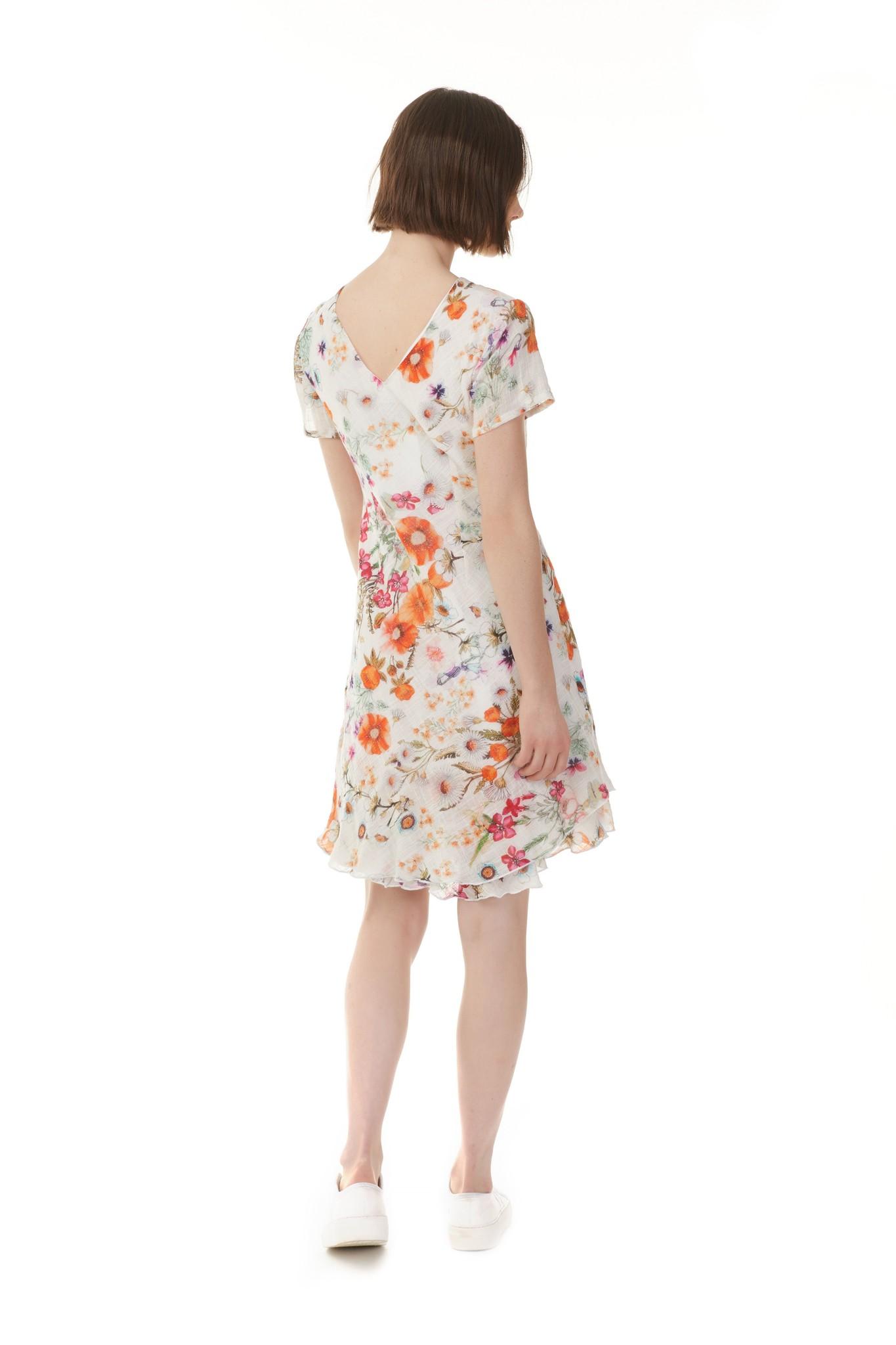 Charlie B Charlie B Gauze S/S Floral Dress