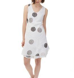Charlie B Charlie B Gauze Tank Dress - Circles