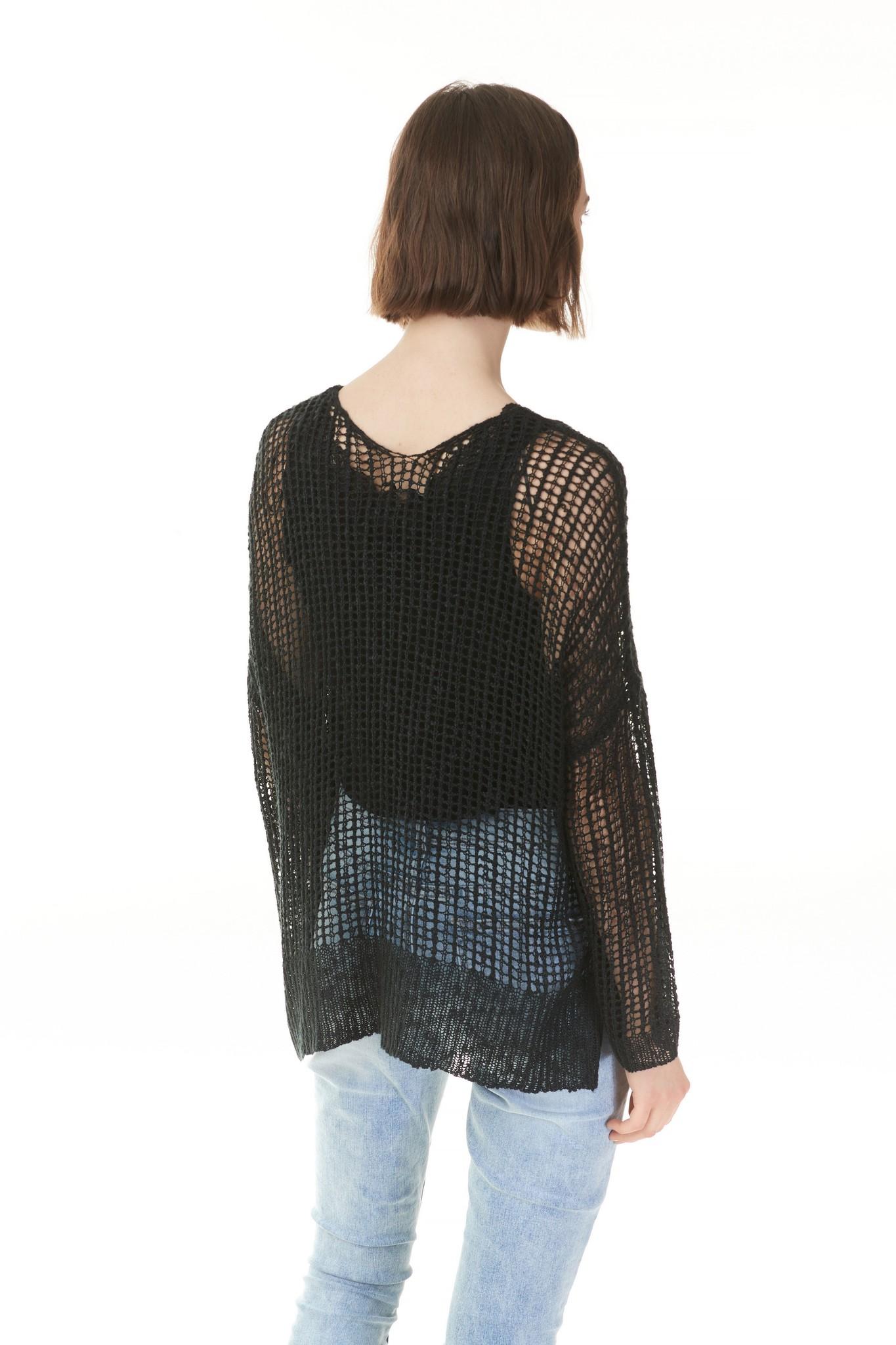 Charlie B Charlie B Crochet Top - Black