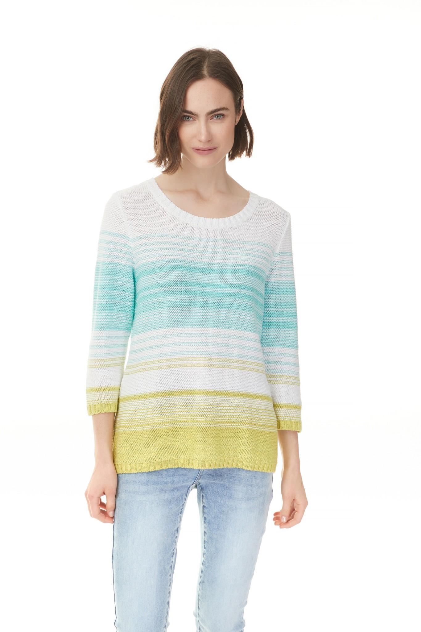 Charlie B Charlie B Space Dye Yarn Sweater