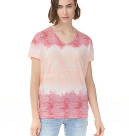 Charlie B Charlie B Burnout Top - Flamingo