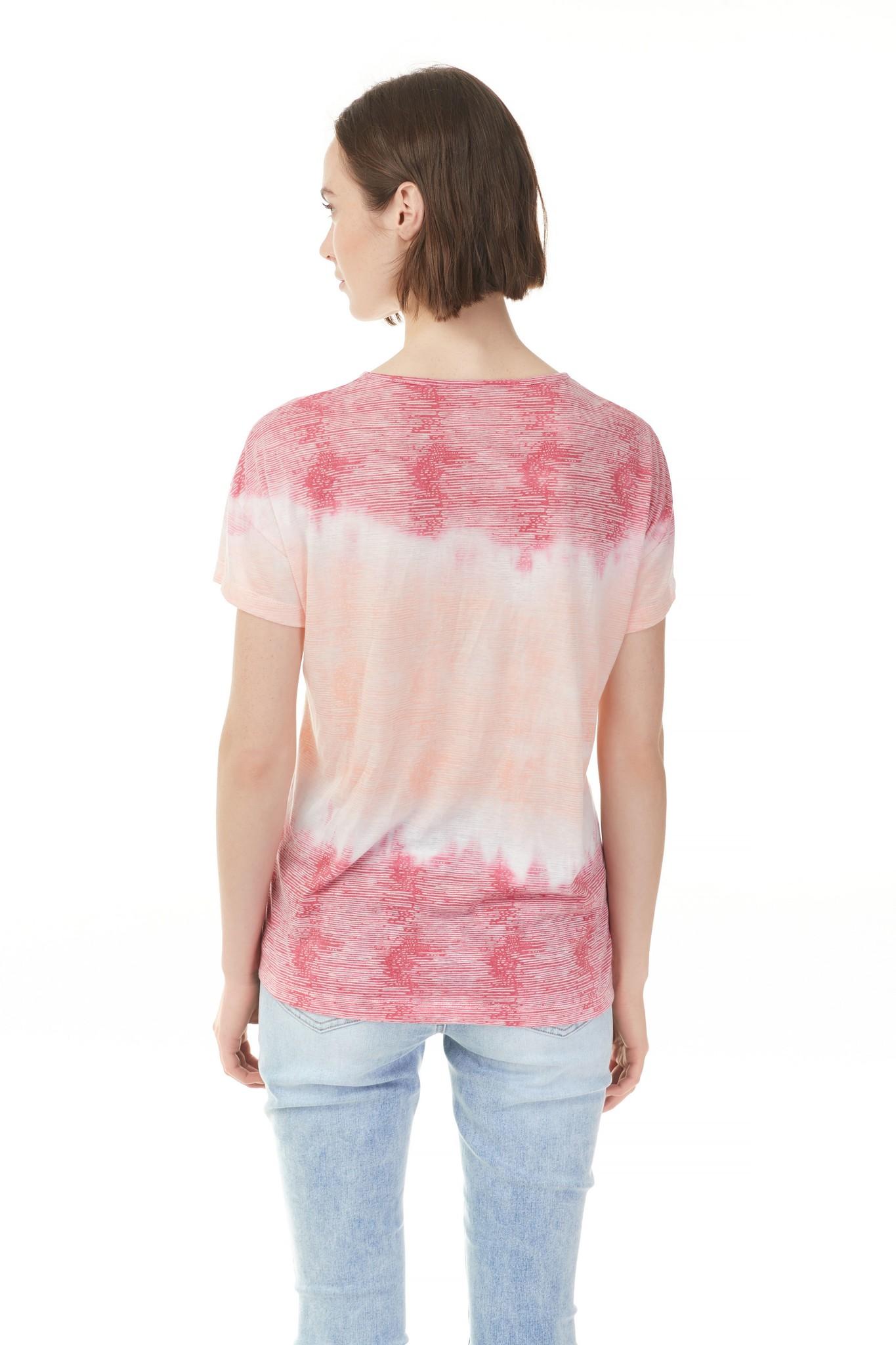 Charlie B Charlie B Burnout Top - Flamingo