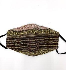 Baizaar Kantha Face Mask - Bhagavad Gita