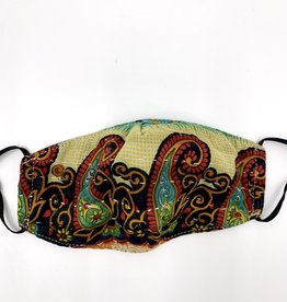 Baizaar Kantha Face Mask - Slow Burn