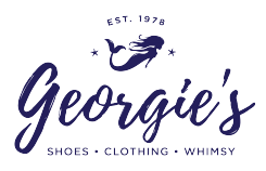 Georgie's is a boutique with unique clothing, shoes, and accessories.