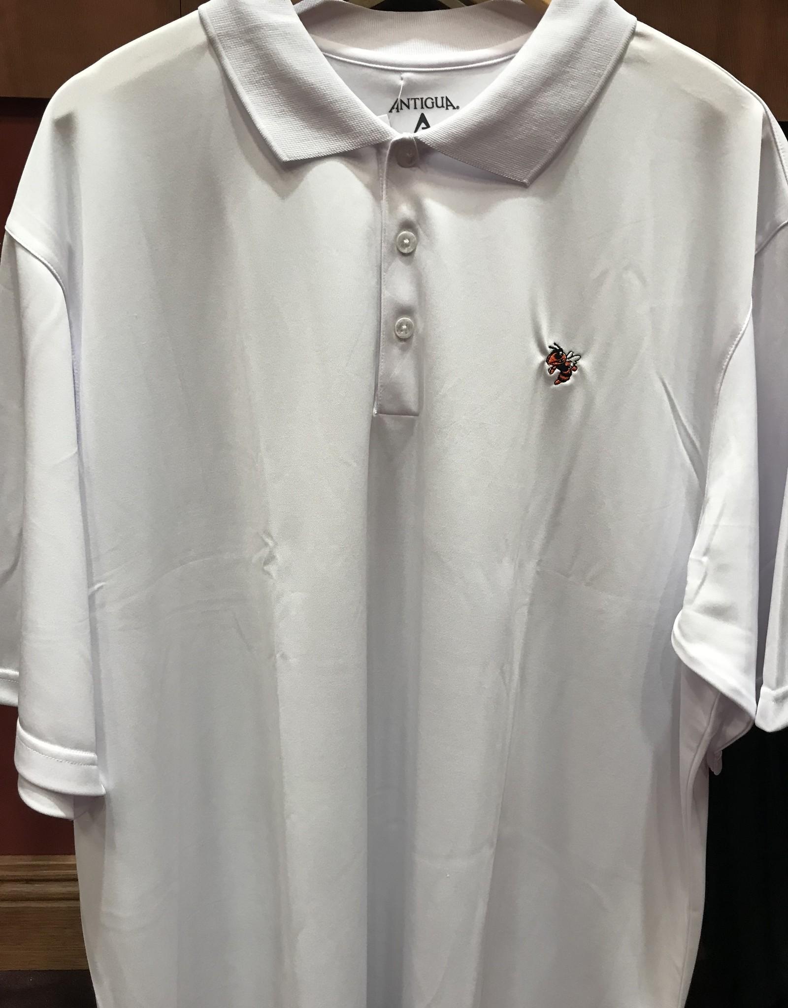 White Polo w/Jacket