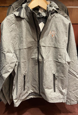 Gray Port Authority Rain Jacket